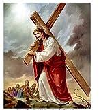 N\A DIY Cuadro Lienzo Dios Muerto Manualidades para Pintar Pintura Al Óleo Pintura por Numeros Adultos Niños