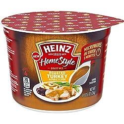Heinz Home Style Gravy Mix, Roasted Turkey, 0.875 oz Cup