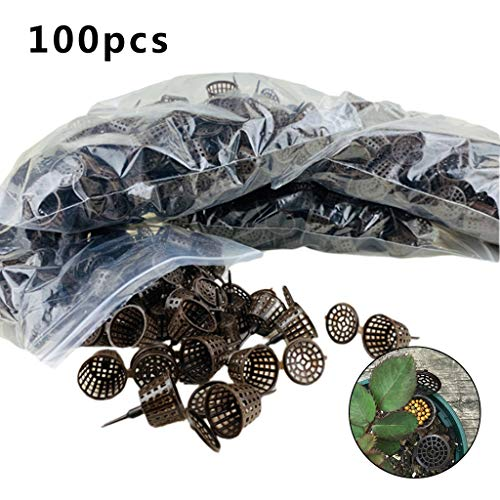 planuuik 100 stuks/pack Meststof Mand voor Bloempot Osmocote Bonsai Orchidee Planten