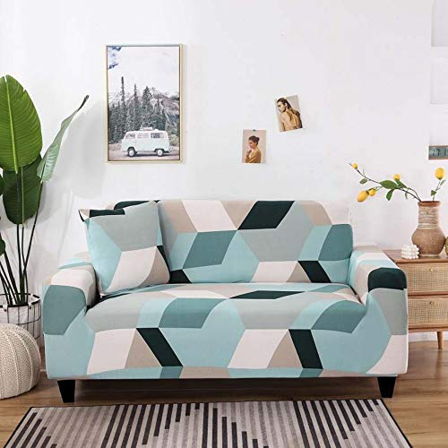 Fundas de Sofá Elasticas Universal Funda Cubre Sofas Ajustables, Antideslizante Protector Cubierta de Muebles impermeable / 1/1 Seater