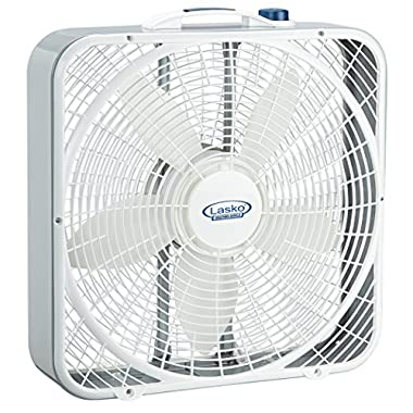 Lasko 3720 20  Weather-Shield Performance Box Fan