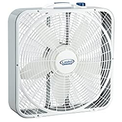 3. Best For Window - Lasko 3720 20″ Weather-Shield performance box fan
