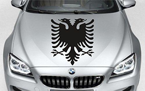 Albanien Albania Albanischer Adler Auto Aufkleber Sticker per Mail, 50 cm