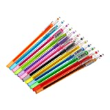 cuigu Diamond Gel Pen Cockapoo dibujar 12colores lápices Student Candy Color Regalos