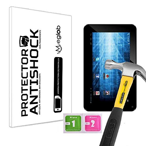 Protector de Pantalla Anti-Shock Anti-Golpe Anti-arañazos Compatible con Tablet Storex eZee Tab 7D10-S