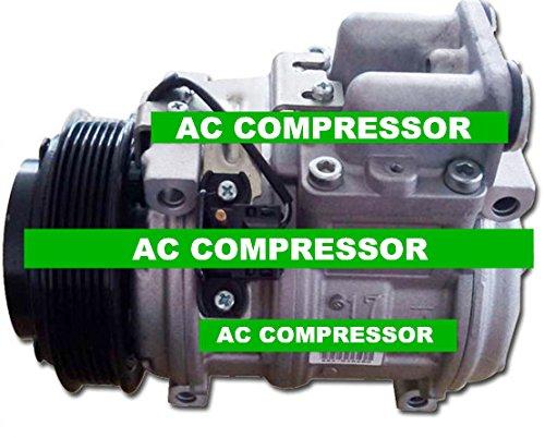 GOWE AC Kompressor für DENSO 10PA17C AC Kompressor für Auto Mercedes-Benz W126 Klimaanlage Kompressor 6 Stück 120 mm
