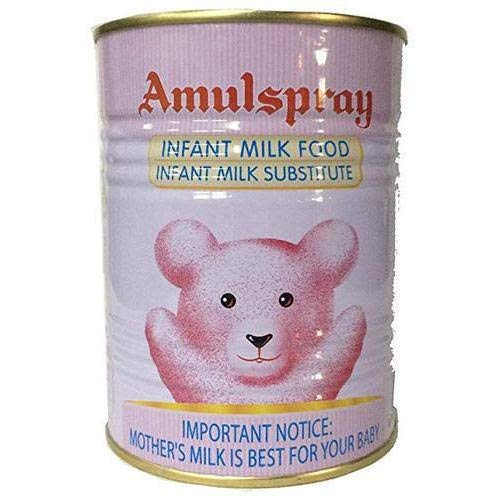 Amul spray milk powder 500gm. Tin pack