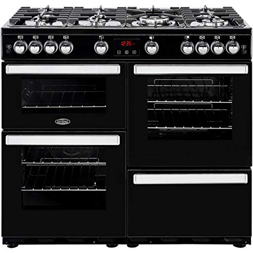 Belling 444444089 Cookcentre 100G 100cm Gas Range Cooker Black