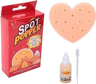 Zerodis Pimple Popper Toys, innovadores Lindos en Forma de corazón Squeeze Acne Stress Relief Toys Deja de Elegir tu Cara Juguetes Divertidos Regalo para Adultos
