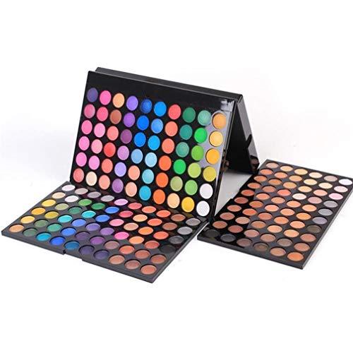 Gracelaza 180 Farben Lidschatten Makeup Paletten - Satte Farben Kosmetik Eyeshadow Palette - Ideal...