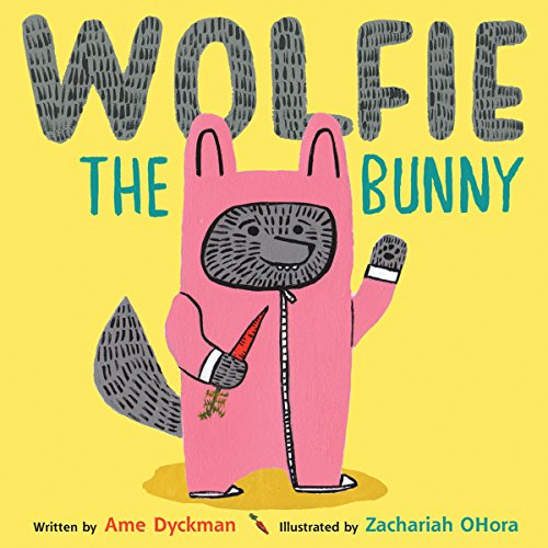 Wolfie the Bunny audiobook cover art