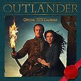 Outlander 2021 Calendar - Official Square Wall Format Calendar