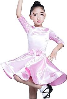 YE ZI Traje de baile- Ropa Profesional Estándar de Baile Latino Falda de baile de rendimiento