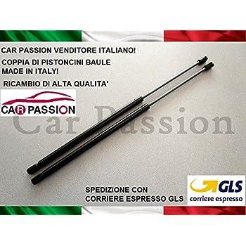 COPPIA MOLLE A GAS PISTONI PISTONCINI COFANO POST FIAT PUNTO 99/>05 3P