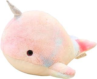 EODNSOFN Nouveaux Jouets de Dauphins en Peluche farcie Animal de mer Jolie Filles poupées Douces bébé Dormant Coussin d'an...