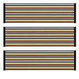AZDelivery Jumper Wire Dupont Cables de Puente 20 cm 3 x 40 pcs cada uno Macho-Hembra/Macho-Macho/Hembra-Hembra compatible con Arduino y Raspberry Pi Breadboard con E-Book incluido! (120 pcs)
