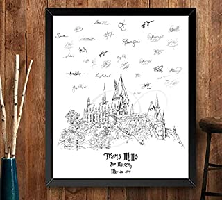 harry potter guest book