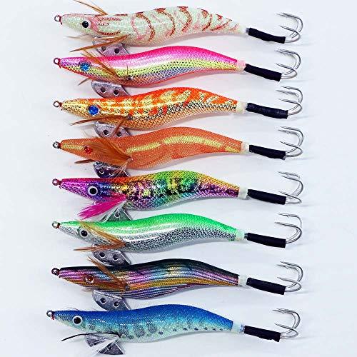 釣り具 タコエギ 3.5号 8本セット A20takoegi35h8D エギング 仕掛け 蛸 タコ釣り エギ