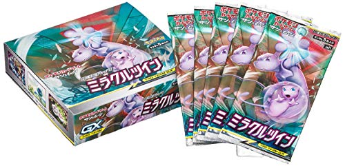 Pokemon Card Game Sun &Moon Expansion Pack Miracle Twin Box Bund der Gleichgesinnten (Japan)