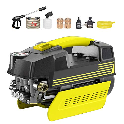 ChunSe Lavadora portátil Lavadora de automóviles Lavadora portátil Pistola de Agua de Alta presión para Bomba de Agua para el hogar,D