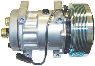 Air Conditioning Compressor - w/Clutch New Holland Case IH 7130 MX230 9230 Magnum 275 MX210 MX285 MX255 Magnum 215 MX245 7230 MX275 7120 MX215 Case Gleaner Massey Ferguson Challenger / Caterpillar