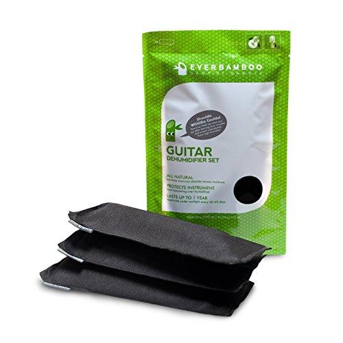 Ever Bamboo Guitar Dehumidifier Bag Set w/ Bamboo Charcoal (3-50 g)