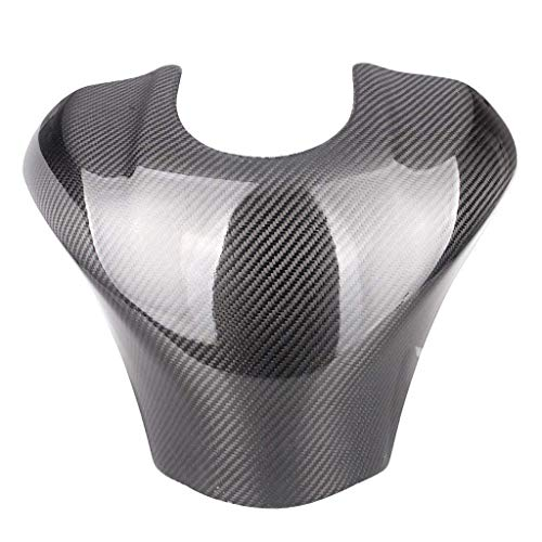 Real Carbon Fiber Motorcycle Fuel Gas Tank Cover Protector For Kawasaki ZX10R 2011-2014