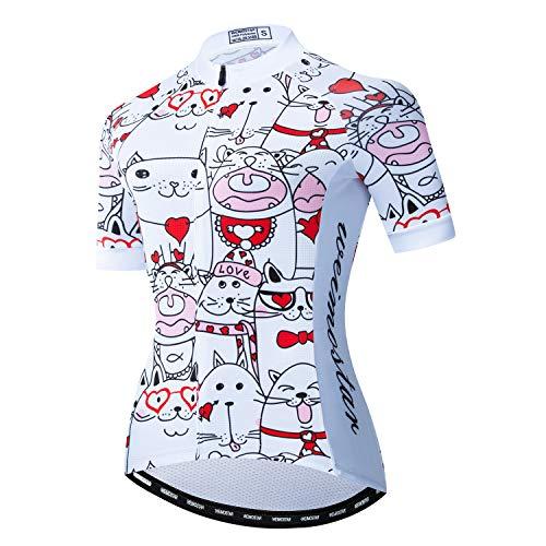 Trikot Radtrikot Damen Radfahren Kurzarm Jersey Bike Shirt Rennrad Kleidung Tops