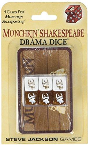 Steve Jackson Games SJG05618 - Munchkin Shakespeare Drama Dice