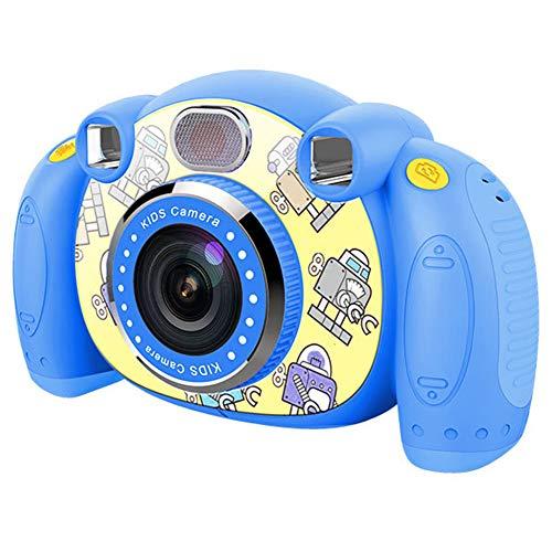 YP Digitalkamera Kindertauglich, Digitale Kamera Bildschirm 2 Zoll Kinder Fotoapparat, Weihnachten Neujahr Geburtstag Festival Spielzeug Geschenk FüR Kinder Alter 3-12,Withoutcard