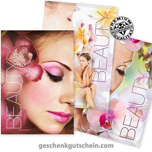 Poster-Set bestehend aus 3 Poster für Beauty, Kosmetikstudio im Format A3+, 310 x 460 mm, KS004-A3S