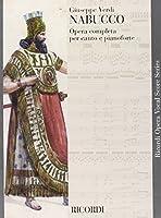 Partitions classique RICORDI VERDI G. - NABUCCO - CHANT ET PIANO Voix solo, piano