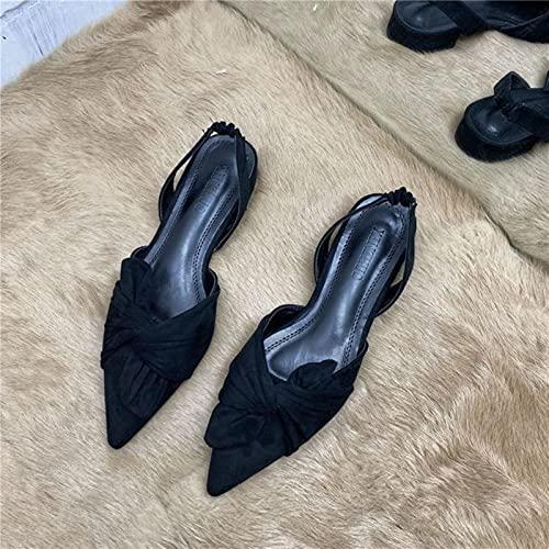 DZQQ Sandalias de Mujer Baotou 2021 Nuevas Sandalias de Mujer maduras y...