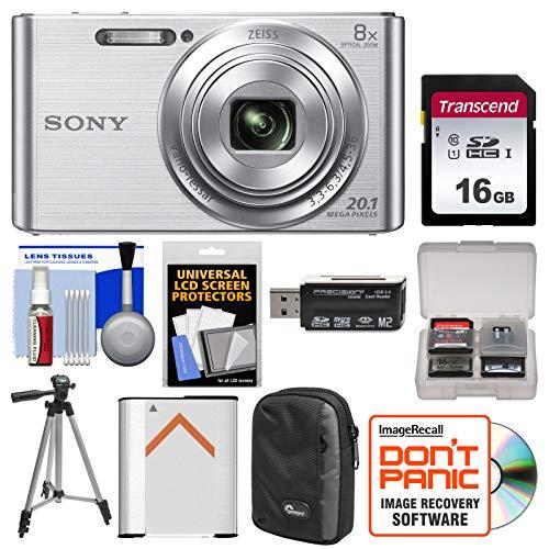 Sony Cyber-Shot DSC-W830 Digital Camera (Silver)...