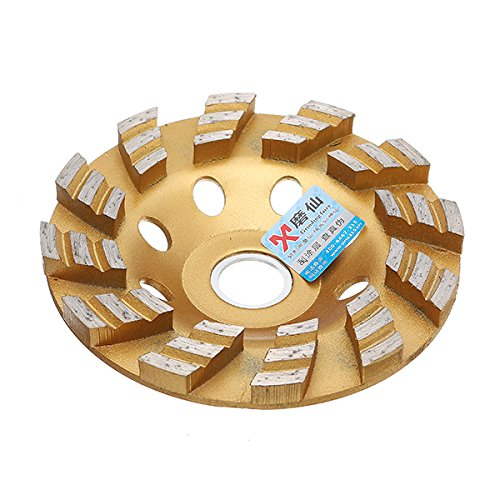 ZOYOSI 4 Inch 100MM Diamond Coated Bowl Shape Grinding Wheel Disc Grinder Granite Stone - 100mm
