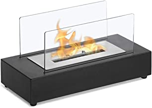 Portátiles De Mesa Chimenea De Etanol, La Cámara De Combustión del Quemador del Calentador Pequeña Estufa, Apto para Uso Interior Y Exterior