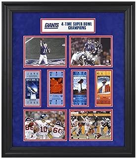 New York Giants Framed Super Bowl Ticket 24