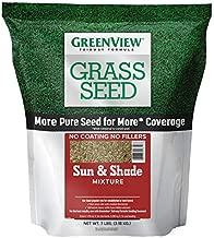 GreenView 2829337 Fairway Formula Grass Seed Sun & Shade Mixture, 7 lb