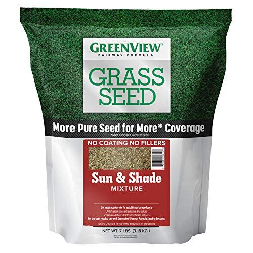 GreenView 2829337 Sun & Shade Mixture Fairway Formula Grass...
