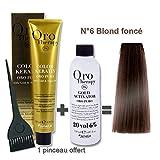 Lot coloration cheveux 100 ml Oro Therapy bond fonc