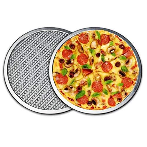 Lot de 2 plaques de cuisson en maille d'aluminium 40,6 cm