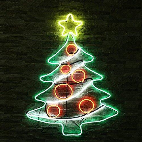 Weihnachten Dekoration Led Lichter, Glimmlampe Dekoration von der Wand-Saal, Weihnachtsdekoration und Geschenke, Anders für Weihnachten, Partys, fodas, Häuser–Greendale Weihnachten