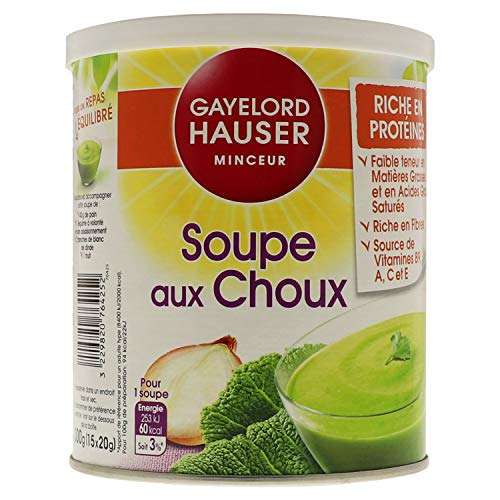 soupe au choux en poudre auchan
