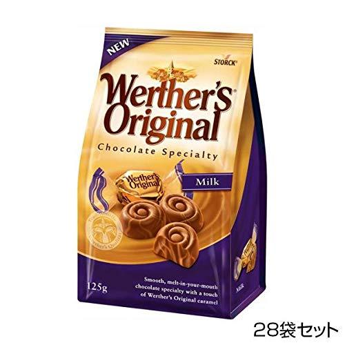 ストーク ヴェルタースオリジナル キャラメルチョコレート マーブルミルク 125g×28袋セット