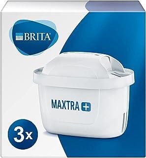Cartouche de filtre à eau Brita Maxtra+, blanche, Plastique, blanc, Lot de 3