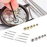 Meiyya Accesorio de reparación de Reloj de Goma para Lavadora, Profesional con Caja, Herramienta de reparación de Reloj, Barra de Resorte, para Relojes de Hombre
