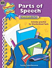 Parts of Speech Grades 3-4: Grades 3 & 4 (Language Arts)