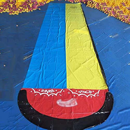 BZLLW Tobogán de Agua, Splash Slide, Jugar en el Centro de la Estera del Juego de los niños Verano de los niños del Patio Trasero Piscina al Aire Libre Juegos Juguetes de Agua
