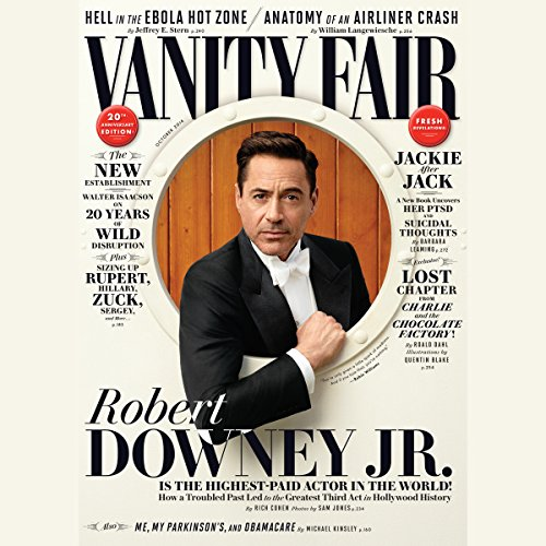 Vanity Fair: October 2014 Issue cover art