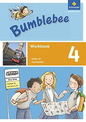 Bumblebee 1 - 4: Bumblebee - Ausgabe 2015: Workbook 4 plus Portfolioheft und Pupil's Audio-CD